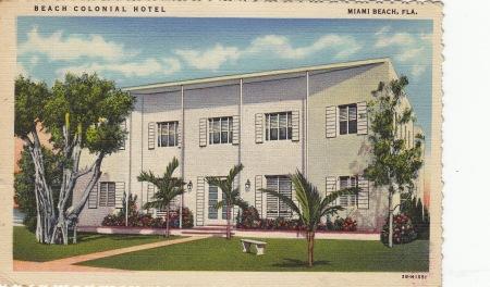 Beach colonial Hotel