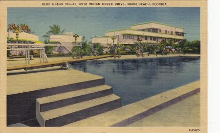 Blue ocean villas