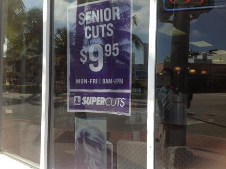 Senior cuts