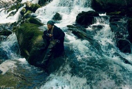 Galliano in wilderness